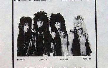 Hace 39 años Mötley Crüe tocaba por primera vez