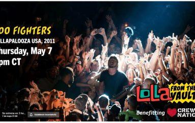 Conciertos de Radiohead y Foo Fighters gratuitos!