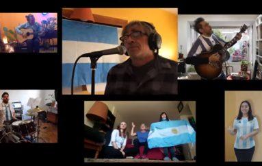 """""""La Bandera de mi Patria"""", una iniciativa solidaria de Popart Discos"""