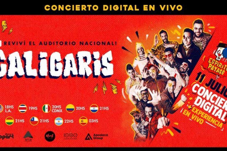 Los Caligaris conectan el Espíritu Payaso