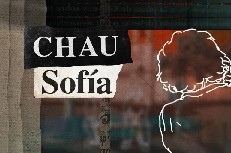 """Luceros el ojo daltónico presenta """"Chau Sofía"""""""